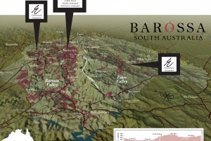 Barossa Topographical Map
