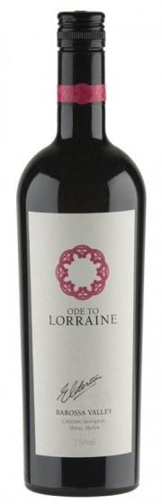 Ode to Lorraine Barossa wine bottle shot