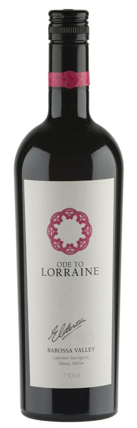 Ode to Lorraine Barossa wine bottle shot