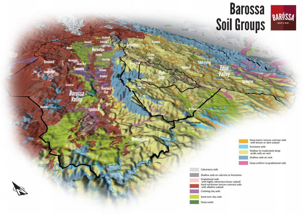 Barossa Grounds project map