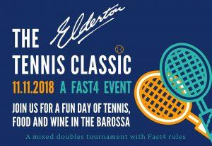 Elderton Tennis Match Invitation