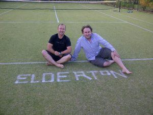 Elderton Grass Tennis Court