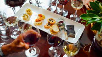 Elderton Wines Barossa Food and Wine Flight