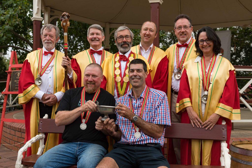 Elderton Wines - Richard Langford named 2018 Barossa Winemaker of the Year - group shot