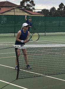 At Elderton Cellar Door in the Barossa Valley - Grass Tennis Court