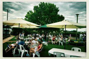 Elderton Barossa Cellar Door - Grass Tennis Court