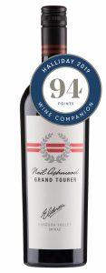 Grand Tourer Shiraz 94 points Halliday Wine Companion