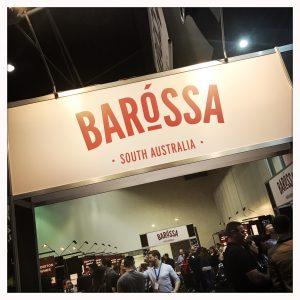 Barossa Good Food & Wine Show Sign