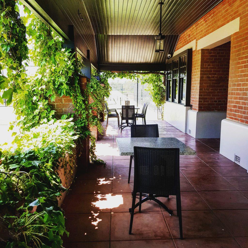 Elderton Barossa Cellar Door verandah