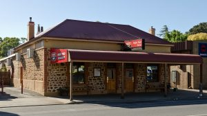 The Angas Park Hotel at Nuriootpa, South Australia.