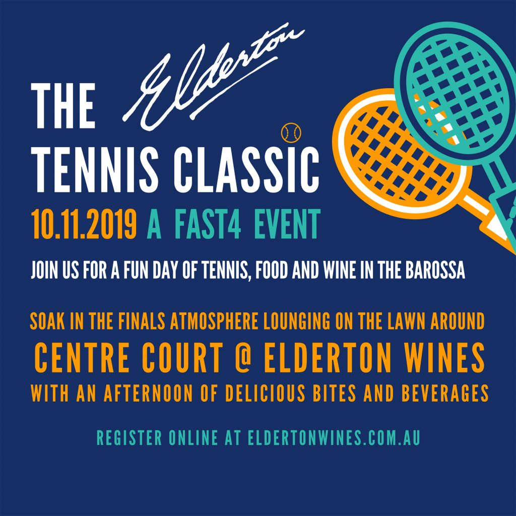 2019 Elderton Tennis Classic quick info