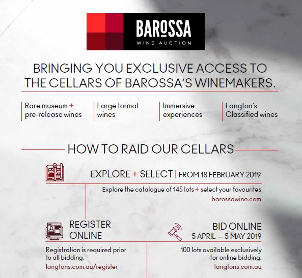 How to bid for Barossa Wine Auction 2019