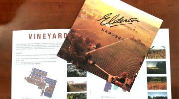Elderton Wines brochure
