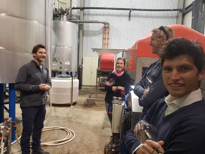Elderton study tour to Pikes Winery
