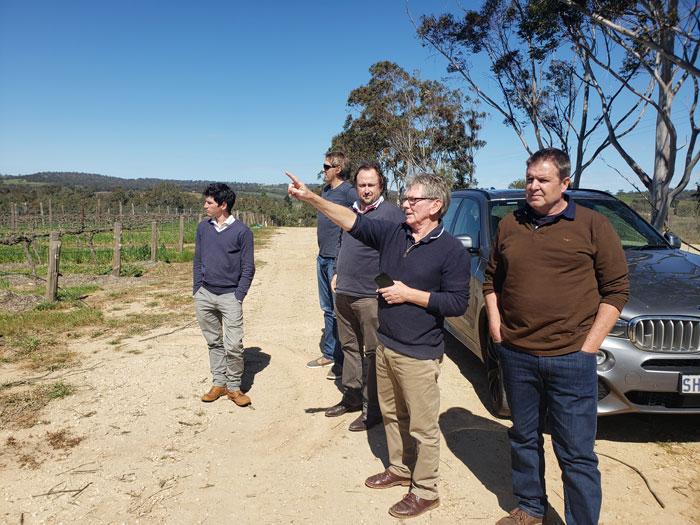 Elderton study tour to Pikes Wines