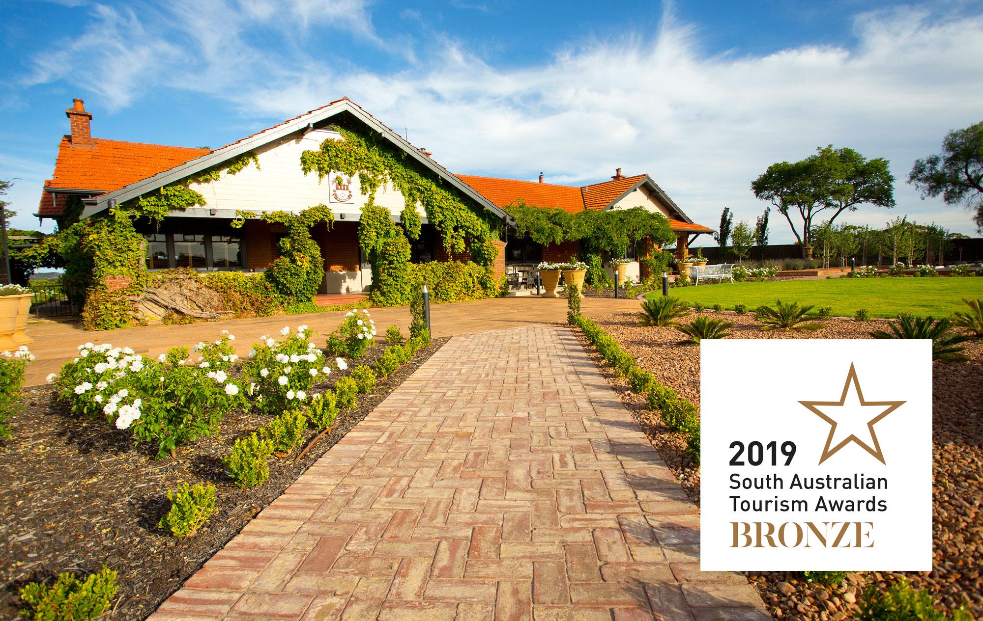 2019 South Australian Tourism Awards - Bronze Medal - Elderton Wines Cellar Door