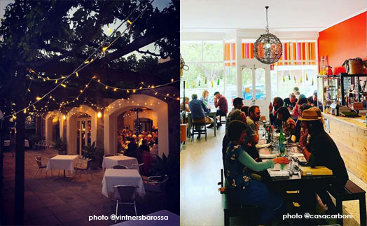 best places to dinein the barossa, angaston, Vintners, Casa Carboni