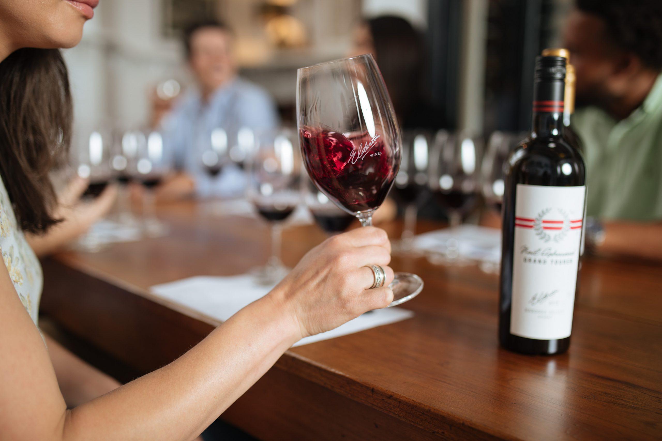 Elderton Barossa Wine tasting