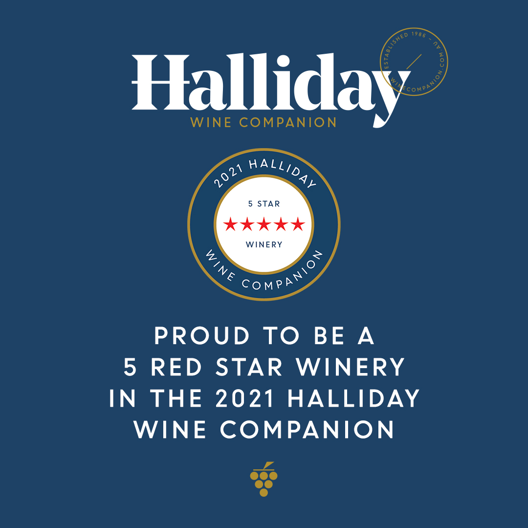 Halliday 2021 5 red star winery
